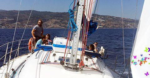 vela koine weekend in barca a vela benvenuta primavera