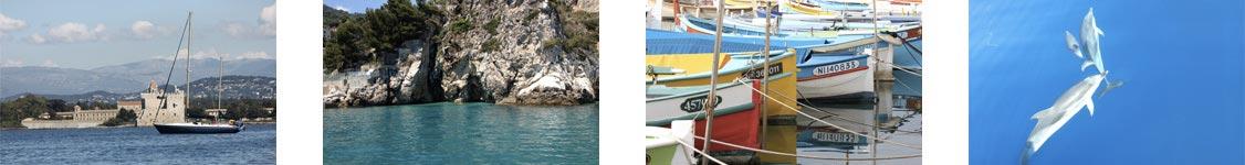 week end in barca a vela costa azzurra liguria