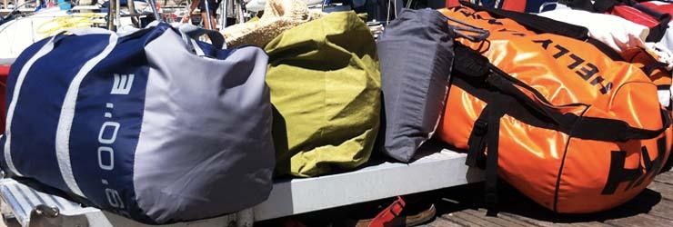 il bagaglio in barca a vela-inverno vacanze week end