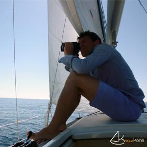 vela koine weekend in barca a vela nizza